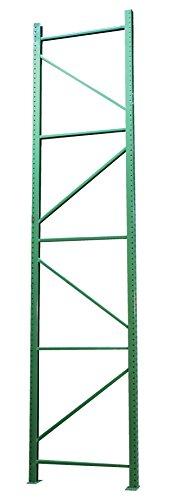 Vestil PRTD-12-42-19 Pallet Racking-Frame, 19380 lb. Capacity, 144'' x 42'', Blue by Vestil