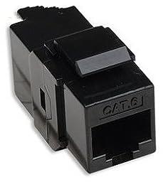 Module Coupler Cat 6 Black