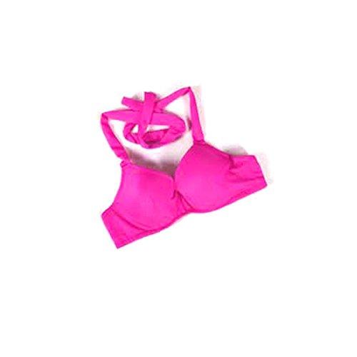 Traje de la danza del vientre Bra Tops Bra Top Dance Costumes Underwear Bra Dark Pink