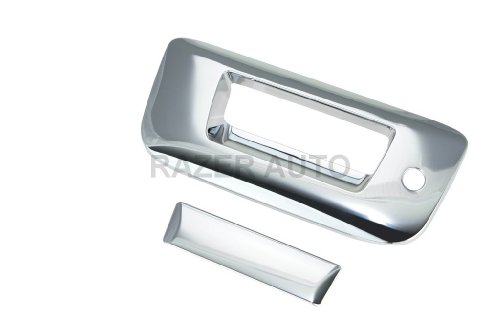 08 Tailgate Chrome - Razer Auto CHROME TAILGATE HANDLE COVER W/KEYHOLE for 07-13 CHEVY CHEVROLET SILVERADO/07-13 GMC SIERRA
