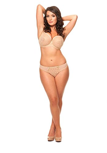 Curvy Kate Womens Dreamcatcher Thong Panty, Biscotti, Small/10
