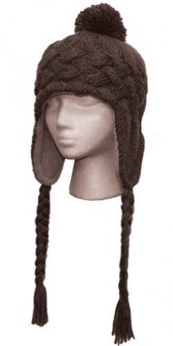 Women's Warm Knit Trapper Winter Hat
