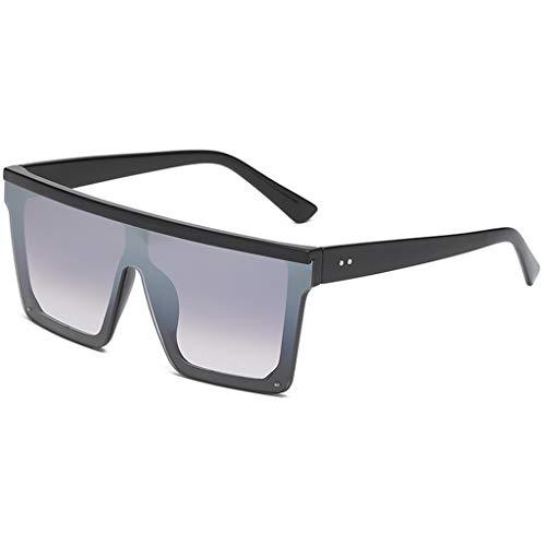 (Yucode Unisex Trendy Polarized Unbreakable Frame Sunglasses for Cycling Square UV Protection Non-Prescription Eyewear)