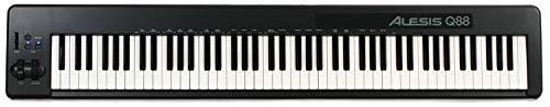 - Alesis Q88 | 88-Key USB/MIDI Keyboard Controller with Pitch & Mod Wheels