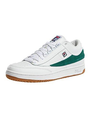 Fila T1 Mid Scarpa bianco verde