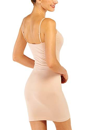 Slimming BodyShaper Skirt Dress Tube NUDE Size S UK 10