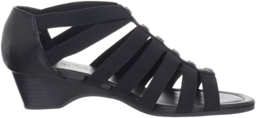 Bella Vita Paula II Stretta Tessile Sandalo con la Zeppa