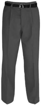 42in Grey or Navy Charcoal Senior Boys Sturdy Fit Trousers Black Waists 26 in