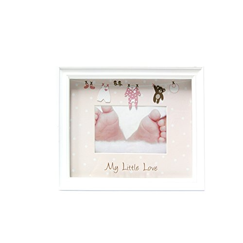 Baby Photo Frame, 4 x 6 Inches, Pink ()