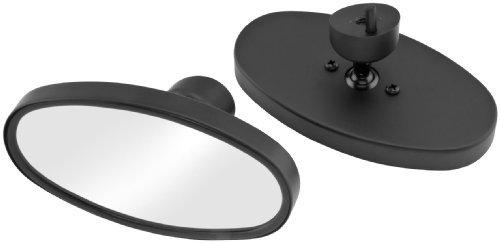 2008 Harley Davidson FLHX Street Glide Mirrors for Dresser Models - Oval - Black, Manufacturer: Bikers Choice, BLACK FUSION OVAL MIRRORS