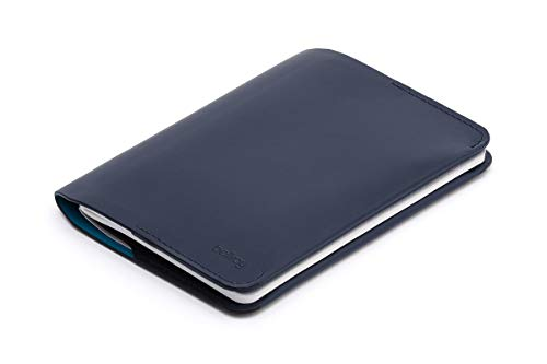 Bellroy Leather Notebook Cover Mini Blue Steel by Bellroy (Image #1)