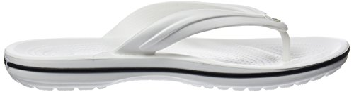 Mixte flip Crocband Tongs Blanc Adulte Crocs tYvHqnxq