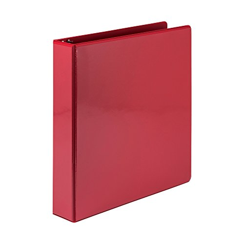 Samsill Economy 3 Ring Presentation View Binder, 1.5. Inch Round Ring – Holds 325 Sheets, Customizable Clear View Cover, ()