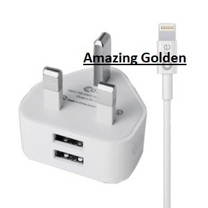 Amazing Cargador USB Doble USB Enchufe de Pared + Cable de ...
