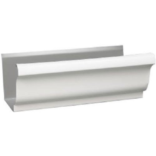 AMERIMAX HOME PRODUCTS 3200700120 5'' White Steel Gutter
