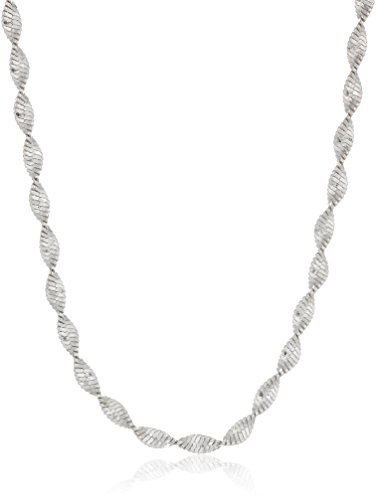 Sterling Silver 2.2mm Twisted Butterfly Chain Necklace