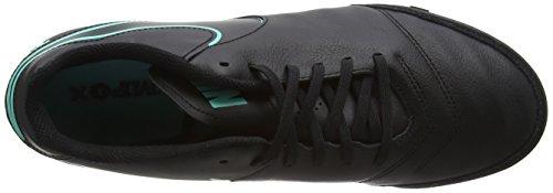 Nike Heren Tiempox Genio Ii Leer Tf Gras Voetbalschoen Zwart