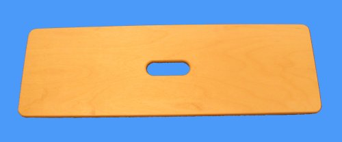 SafetySure Wooden Transfer Board with Center Hand Slot - 24'' x 8'' by MTS Medical Supply