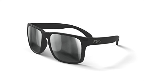 REKS Unbreakable SPORT Sunglasses (NEW 2018 Model) (Polarized, Silver - Male With Sunglasses Models