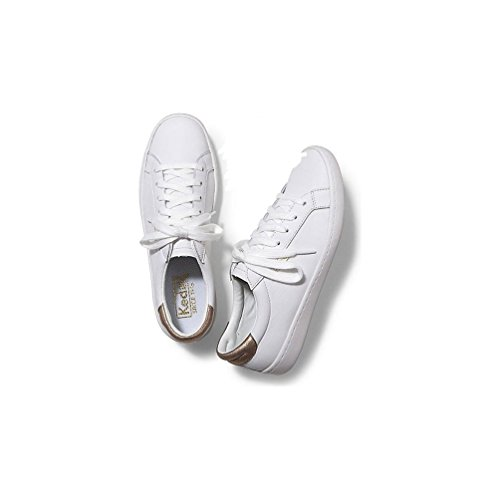 Sneakers Stringate Da Donna In Pelle Corta Da Donna