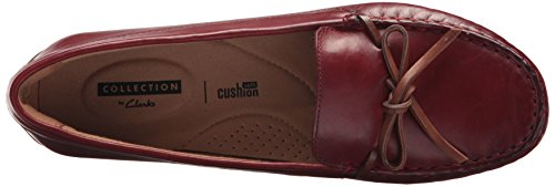Swing Red Driving Women's Dameo CLARKS Loafer Leather Style Evq6AzA