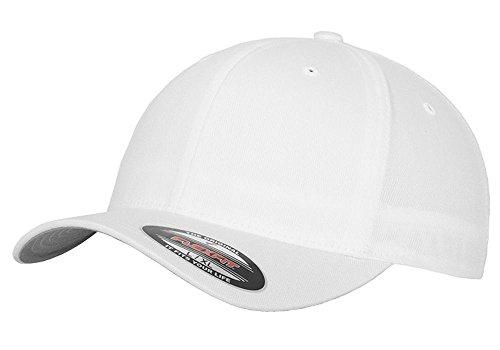 (1971 1972 Plymouth GTX Outline Design Flexfit Hat Cap Large/XLarge White)