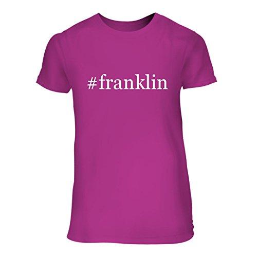 #franklin - A Nice Hashtag Junior Cut Women's Short Sleeve T-Shirt, Fuchsia, - 11 Franklin 7 Tn