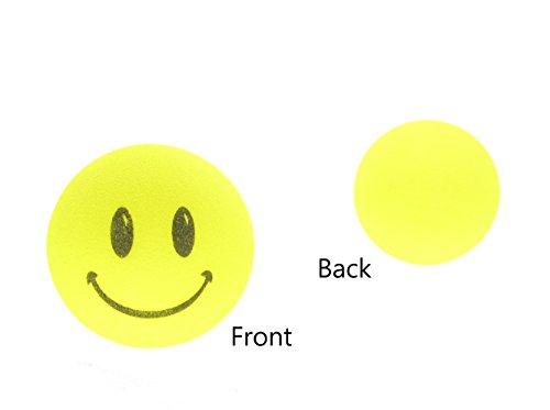 - Antenna Tops Yellow Smiley Face Car Antenna Topper/Antenna Ball/Mirror Dangler