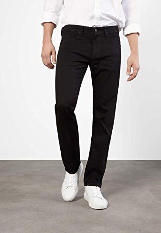 MAC Jeans męskie spodnie Ben, krÓj regularny, granatowe: Odzież
