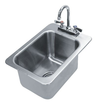 (Advance Tabco Drop-in One Compartment Sink Model DI-1-10 )