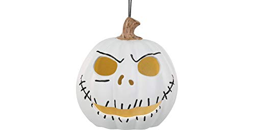 The Nightmare Before Christmas Light-Up Jack Skellington Jack-o'-Lantern,