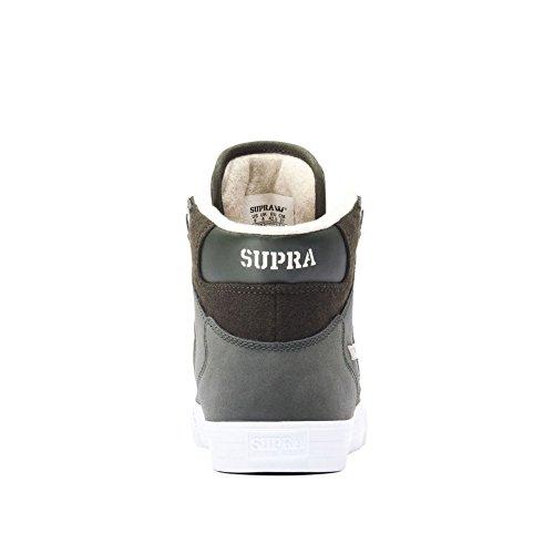 Supra Vaider LC Sneaker Dunkle Olive / Weiß