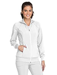 Cherokee Women's Infinity Zip Front Warm-Up Jacket