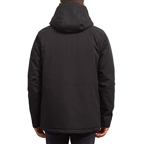 Renton Parka Casual Black Uomo Volcom 4RUdqwR