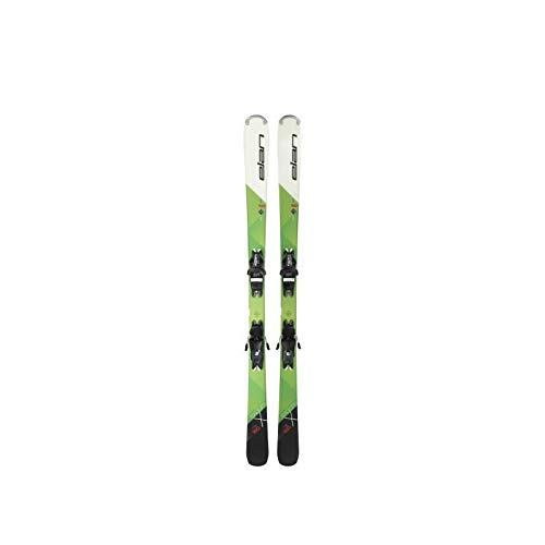 Elan Ski Explore x LS EL 10.0 Shift – Unisex – Grün, Weiß und Schwarz 168 cm