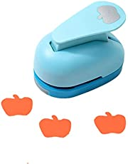 ODETOJOY Punch with Designs 1Inch Lever Action Craft Punches for Paper Crafts Shapes Large Scrapbooking Card Making, Puncher for Kindergarten Teacher Office Supplies Kids
