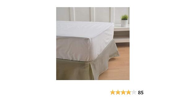 Cubre canapés 105 Color Arena - Medidas canapé 105cm - Elegante y Sencillo de Lavar y Colocar - Tejido Fuerte, Suave y Duradero