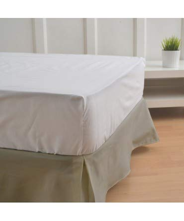 10XDIEZ Cubre canapes 90 Color Arena - Medidas canape 90cm - Elegante y Sencillo de Lavar y Colocar - Tejido Fuerte, Suave y Duradero