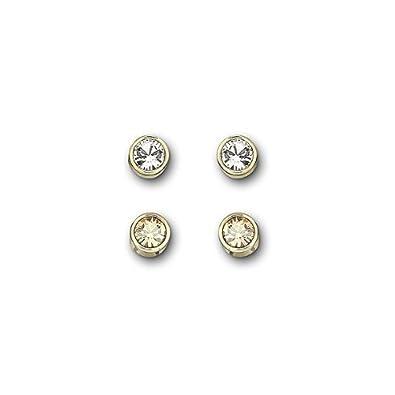 1a3bd776e Swarovski Harley Pierced Earrings Set 1092467: Amazon.co.uk: Jewellery
