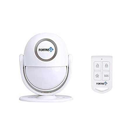 Fortress Security Guardian: All-In-One Motion Activated DIY Wirless Alarm- Personal Security Alarm or Doorbell Feature Easy to Install Great for Businesses or (Cellular Car Alarm)