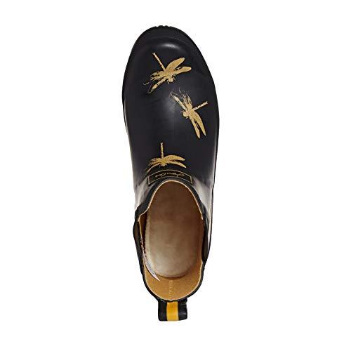 Wellibob Bottines Noir Bottes Femme Blkdfly Dragonfly De black amp; Joules Pluie FxZaqffw