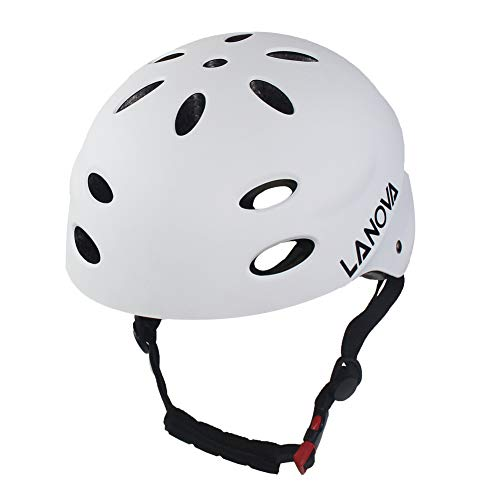 LANOVAGEAR Kids Bike Helmet CPSC Certified Impact Resistance Ventilation for Bicycle Cycling Skateboarding Scooter Roller Skate Inline Rollerblading Longboard