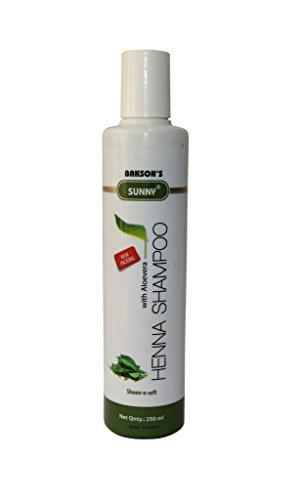 (Bakson's Henna Shampoo With Aloevera Sheen-N-Soft)