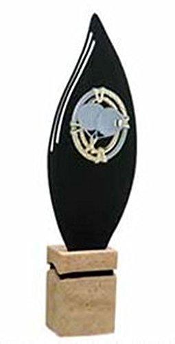 Trofeos Pádel Metal y Mármol GRABADO Trofesport Trofeos PERSONALIZADOS Trofeos Deportivos (34cm)