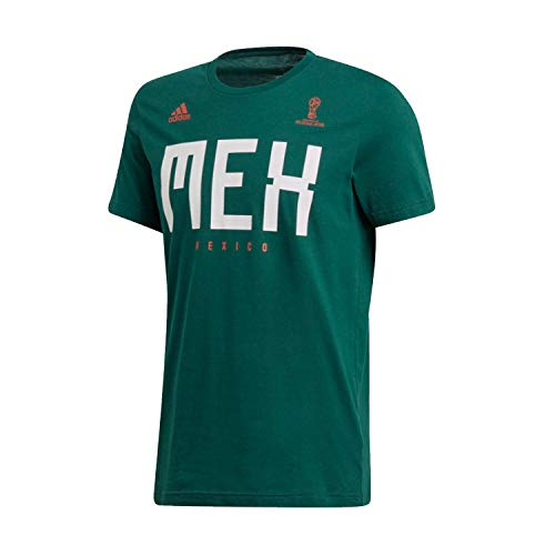 - adidas Adult Men Soccer Tee, Green, Small