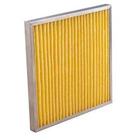 KochTM Air Filter 102-730-013K Multipleat High Temp Oven Filter With Gasket 12 W x 24 H x 4 D Lot of 6