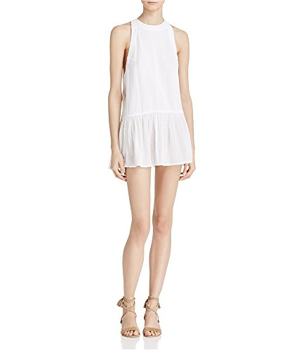 (Free People Women's Breathless Moments Batiste Tunic White Small)