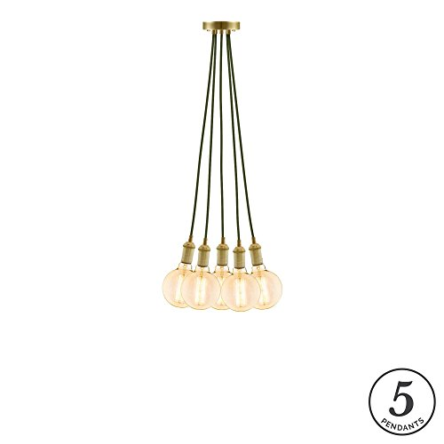 Olive Green Pendant Light in US - 2