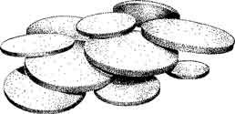 Kimble Chase DISC 60MM M Fritted Discs - KMBL