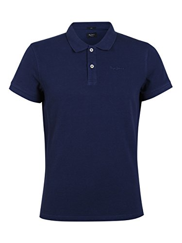 Pepe Jeans London Herren Polo Shirt Vincent PM541009 Navy-L